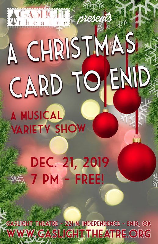 Christmas Card Images Free.A Christmas Card To Enid Free At Gaslight Theatre Enid Ok